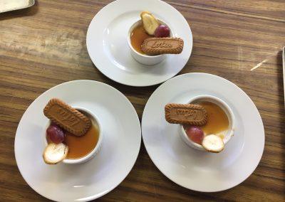 Dessert speculos traiteur